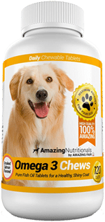 Amazing Omega for Dogs - Dog Fish Oil