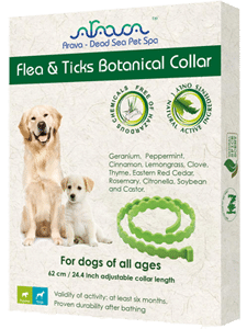 Arava Flea Collar for Dogs & Puppies