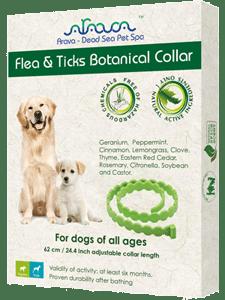 Arava Flea Collar for Dogs & Puppies