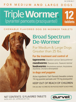 Durvet Triple Dog Wormer