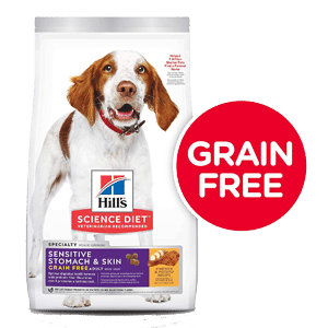 Hills Science Diet Grain-Free Sensitive Stomach