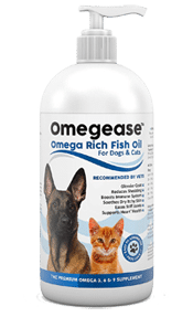 Omegease Pure Omega 3, 6 & 9 Fish Oil for Dogs