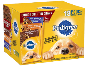 Pedigree Choice CUTS in Gravy Pouches
