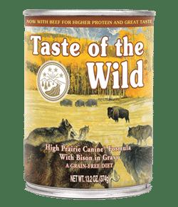 Taste of the Wild High Prairie Canned Food
