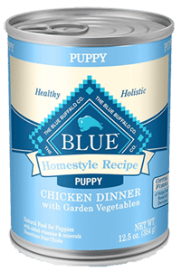 blue buffalo homestyle natural wet puppy food