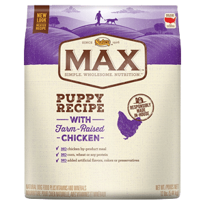 nutro max natural puppy food