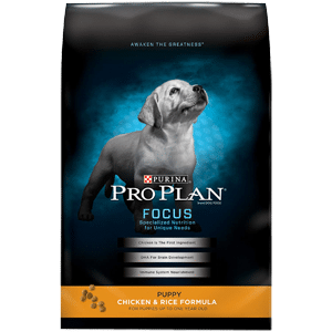 purina pro plan puppy food focus