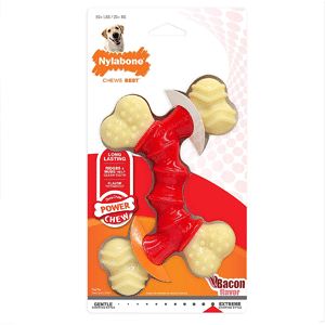 Nylabone Dura Souper Bacon Flavored Double Bone Dog