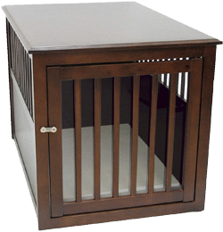 Crown Pet Products Wood Pet Crate