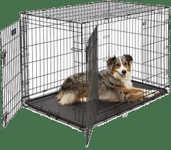 Frisco Fold & Carry Double Door Dog Crate
