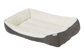 Frisco Rectangular Bolster Pet Bed