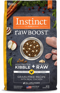 Instinct by Nature's Variety Raw Boost Grain-Free Recipe with Real Chicken Dry Dog Food