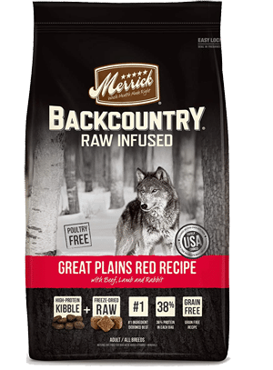 Merrick Backcountry Raw Infused