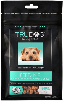 TruDog — Feed Me Turkey Grain-Free Freeze-Dried Raw Dog Food