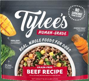 Tylee's Human-Grade Beef Recipe Frozen Dog Food