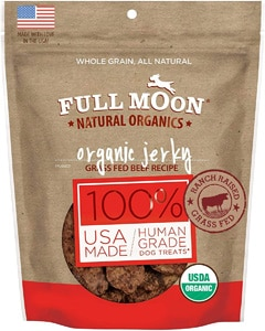 Full Moon Organic Beef Jerky Dog Treats