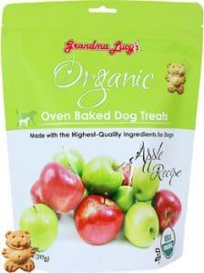 Grandma Lucy's Organic Apple Oven Baked Dog Treats