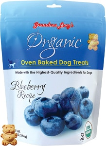 Grandma Lucy's Organic Blueberry Oven Baked Dog Treats