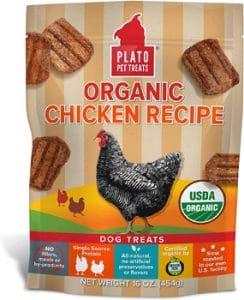 Plato Original Real Strips Chicken Recipe Dog Treats