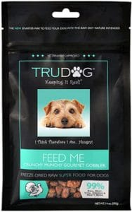 TruDog Feed Me Freeze Dried Raw Superfood Real Meat Dog Food