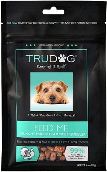 TruDog Feed Me Freeze Dried Raw Superfood Real Meat Dog Food