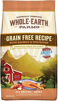 Whole Earth Farms Grain-Free Recipe with Salmon